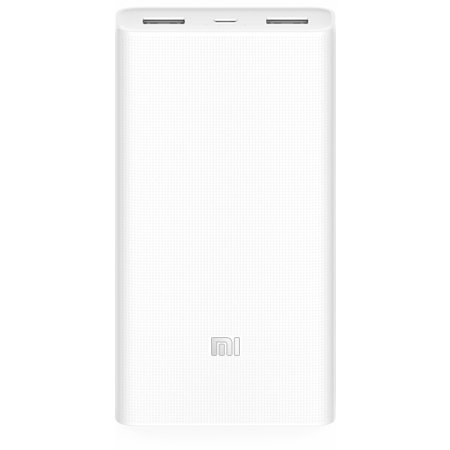 Универсальная батарея Xiaomi Mi power bank 2 White 20000mAh ORIGINAL